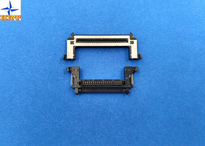 One Row 0.5mm Pitch Lvds Display Connector Type With Stainessless Shell