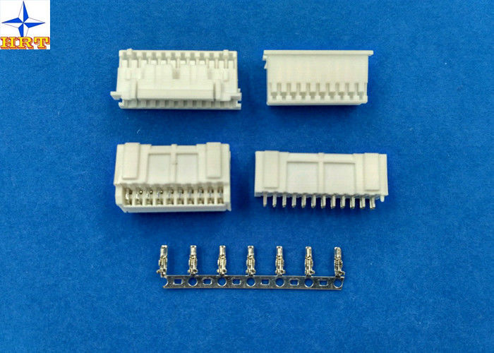 Double Row Auto Electrical Connectors , Electrical Wire Connectors 2.00mm Pitch PAD connector