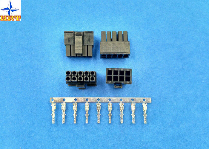 Wire To Wire Connector 3.00mm Pitch Power Connector Low-Halogen ...
