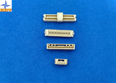 China 180 degree vertical SMT Wafer Connector with 1.25mm pitch brass pin PCB Connector factory