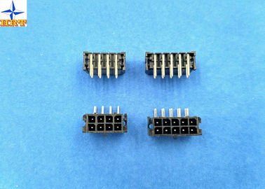 Dual Row Wafer Connector with 3.0mm pitch for PCB Connector Micro-Fit Header Glow Wire Capable